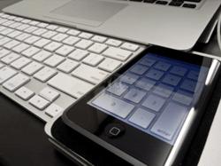iphoneとMacパソコン