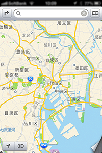iphone-map地図