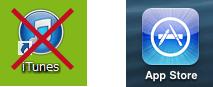 iphoneのAooStore
