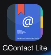 GContactLiteアイコン