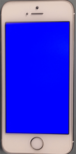 iphone5S_ブルースクリーン画