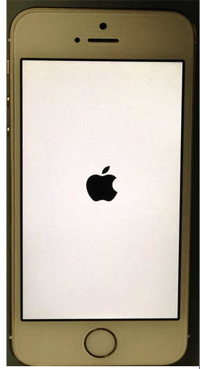 iphon5S_appleマーク画面