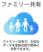 iCloud_ファミリー共有