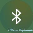 iOS11_コントロールセンター画面_Bluetooth操作アイコン