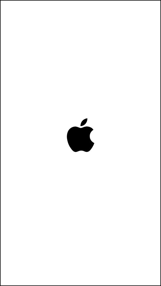 iOS11再起動画面