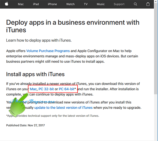 iTunes12_6_3_Appleダウンロードページ