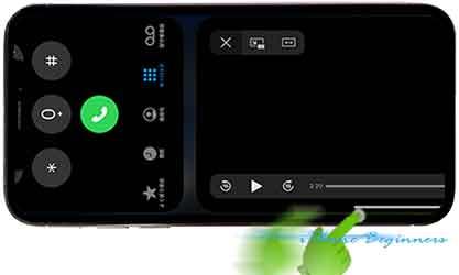 iphone11フレーム_ランドスケープモード_アプリ画面_アプリ切替スワイプ