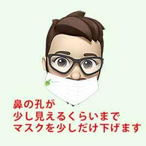 FaceID_全体マスク登録