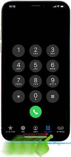 iphone11フレーム_アプリ画面_アプリ切替スワイプ